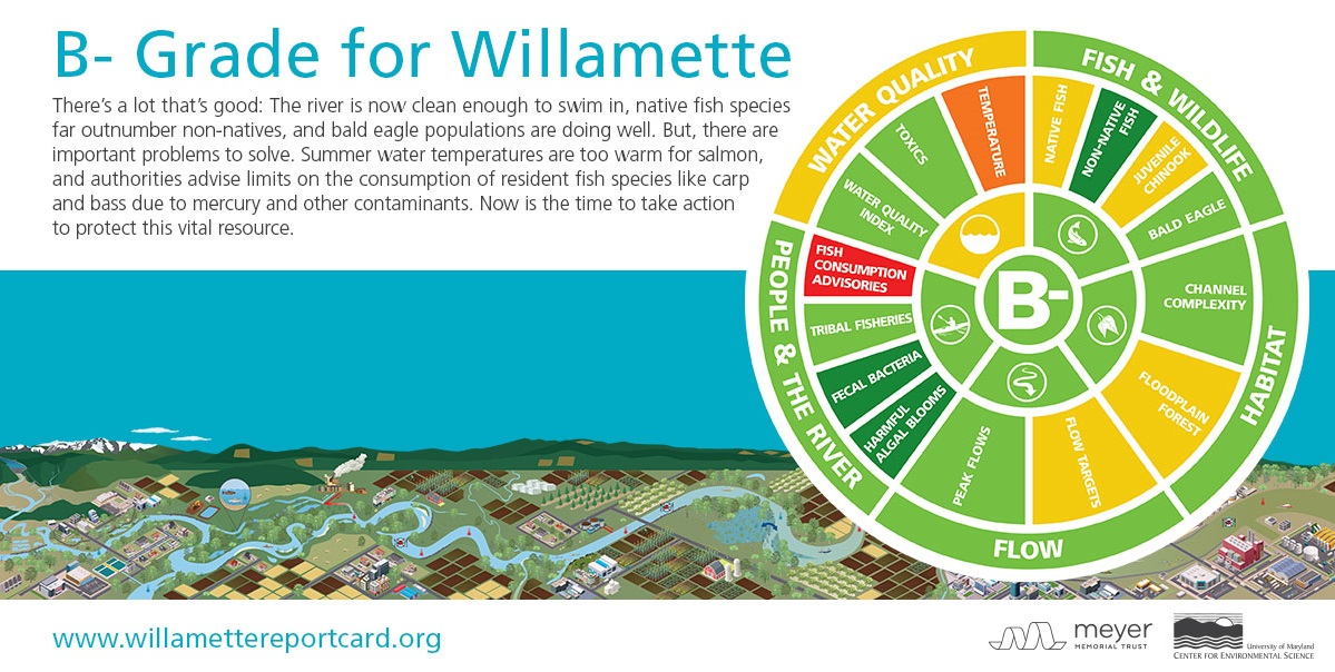 Willamette River Report Card 2015