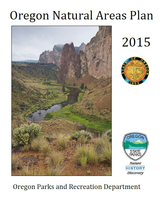 2015 Natural Areas Plan cover