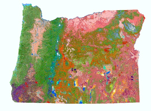 Oregon Statewide Habitat Map thumbnail