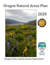 2020 Natural Areas Plan cover page
