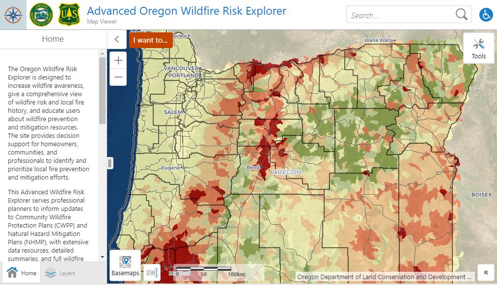 Wildfire Risk Explorer