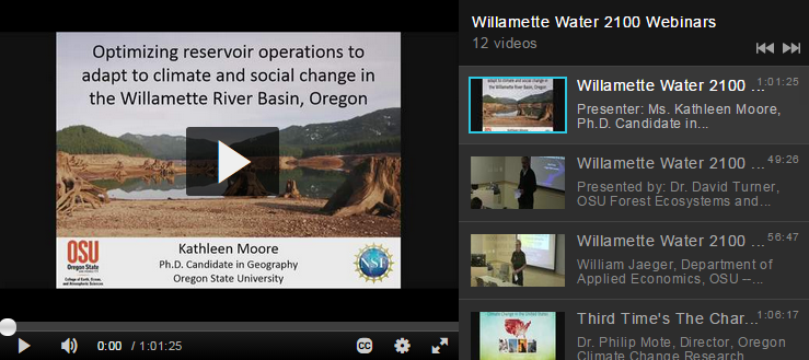 Oregon State University Institute For Natural Resources